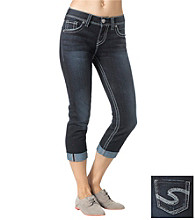 Silver Jeans Co. Suki High Waist Cuffed Cropped Jeans
