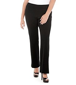 Karen Kane® Plus Size Structured Knit Pants