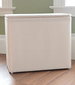 LaMont Home® Basketweave Bench Hamper