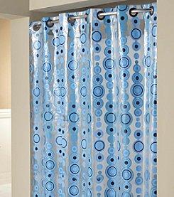Hookless® Circle Drop PEVA Shower Curtain