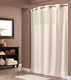 Hookless® Plain Weave Shower Curtain