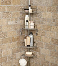 Zenna Home™ TwistTight™ Tub and Shower Pole Caddy