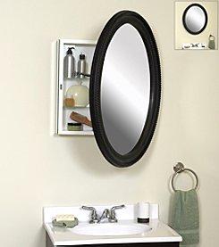 Zenith® Oval Mirror Medicine Cabinet