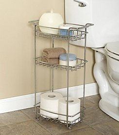 Zenna Home™ Chrome Slimline Floor Stand