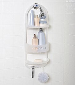 Zenna Home™ Frosted Large Plastic Over the Shower Caddy