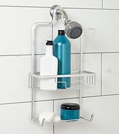 Zenna Home™ NeverRust Aluminum Shower Caddy with Bucket Shelf