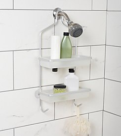 Zenna Home™ NeverRust with Plastic Inserts Shower Caddy