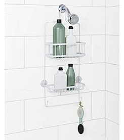 Zenna Home™ White Premium Shower Head Caddy