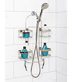 Zenna Home™ Chrome Premium Expandable Shower Caddy