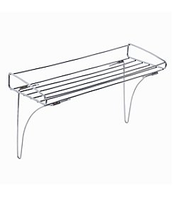 Zenna Home™ Chrome Over the Towel Bar Shelf