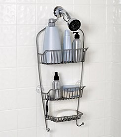 Zenna Home™ Satin Nickel Premium Shower Head Caddy
