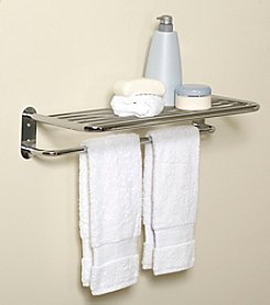 Zenna Home™ Hotel Style Towel Shelf and Towel Bar