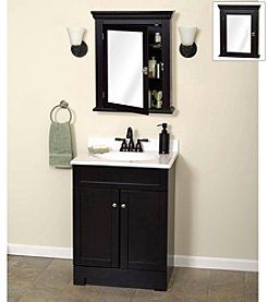 Zenith® Early American Mirrored Medicine Cabinet