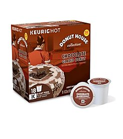 Keurig® Donut House Collection Chocolate Glazed Donut 18-pk. K-Cup® Portion Pack
