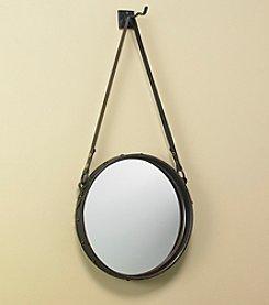 Ruff Hewn Round Mirror