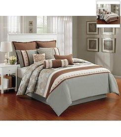 LivingQuarters Meghan 10-pc. Comforter Set