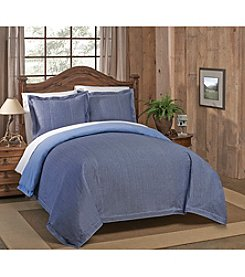 Ruff Hewn Chambray Denim 3-pc Duvet Set