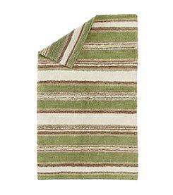 LivingQuarters Reversible Stripe Bath Rug
