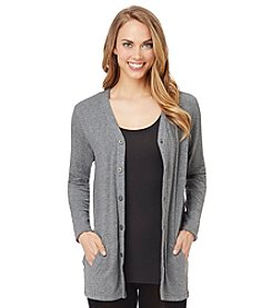 Cuddl Duds® Softwear with Stretch Button Cardigan