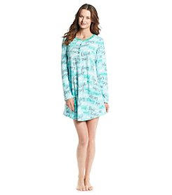 HUE® Fleece Sleepshirt