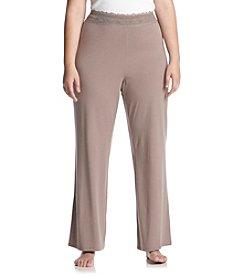 Chanteuse® Plus Size Knit Pants - Ruff Slate