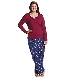 Intimate Essentials® Plus Size Combo Pajama Set