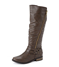 "Rampage® ""Idella"" Knee High Moto Boots"