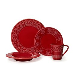 Mikasa® Sutton Crimson Dinnerware Collection