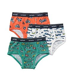 Carter's® Boys' 3-pk. Transportation Briefs