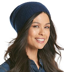 Collection 18 Hazy Waffle Knit Slouch Hat