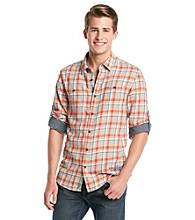 Buffalo by David Bitton Men's Sable Combo Medium Plaid Woven Shirt