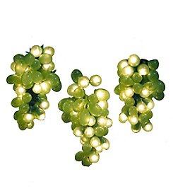 Kurt Adler 100-Light Micro Bulb 5-Cluster Green Grape Light Set
