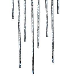 Kurt Adler 144-Light Indoor/Outdoor Winter White Meteor Shower LED Light Sticks