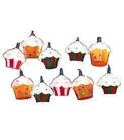 Kurt Adler 10-Light Plastic Cupcake Light Set