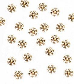 Kurt Adler 35-Light Indoor/Outdoor Double Layer Snowflake Reflector Set