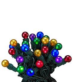 Kurt Adler 50-Light Multi-Colored LED Pearlized Novelty Light Set