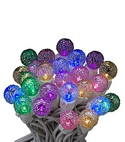 Kurt Adler 50-Light Multicolored LED Faceted Novelty Light Set
