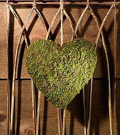 Lillian Rose® Moss Hanging Heart