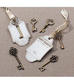Lillian Rose® Set of 24 Bronze Key Tags