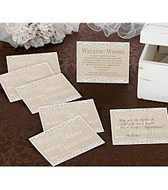 Lillian Rose® Country Lace Set of 48 Guest Cards