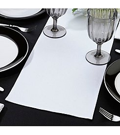 Lillian Rose® True Love Blank White Table Runner