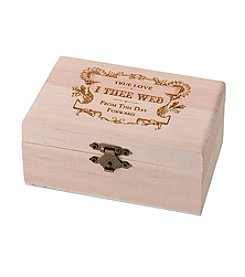 Lillian Rose® True Love Ring Bearer Box