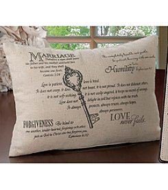 Lillian Rose® Christian Key Ring Pillow