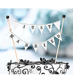 Lillian Rose® True Love Just Married Cake Bunting