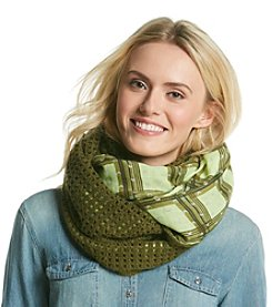 BCBGeneration™ Cadet Moonshine Knit to Print Loop Scarf