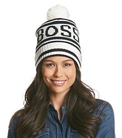 BCBGeneration™ Striped BOSS Varsity Hat