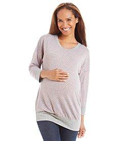 Three Seasons Maternity™ Dobby Knit Top