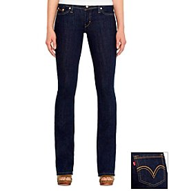 Levi's® Juniors' 524™ Performance Blue Bootcut Jean