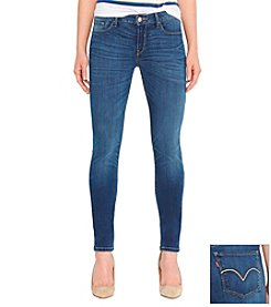 Levi's® Juniors' 535 Denim Leggings -  Indigo Falls