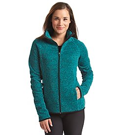 Exertek® Sweater Fleece Mock Neck Zip Jacket